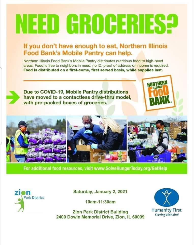 NIFB Mobile Pantry in Zion