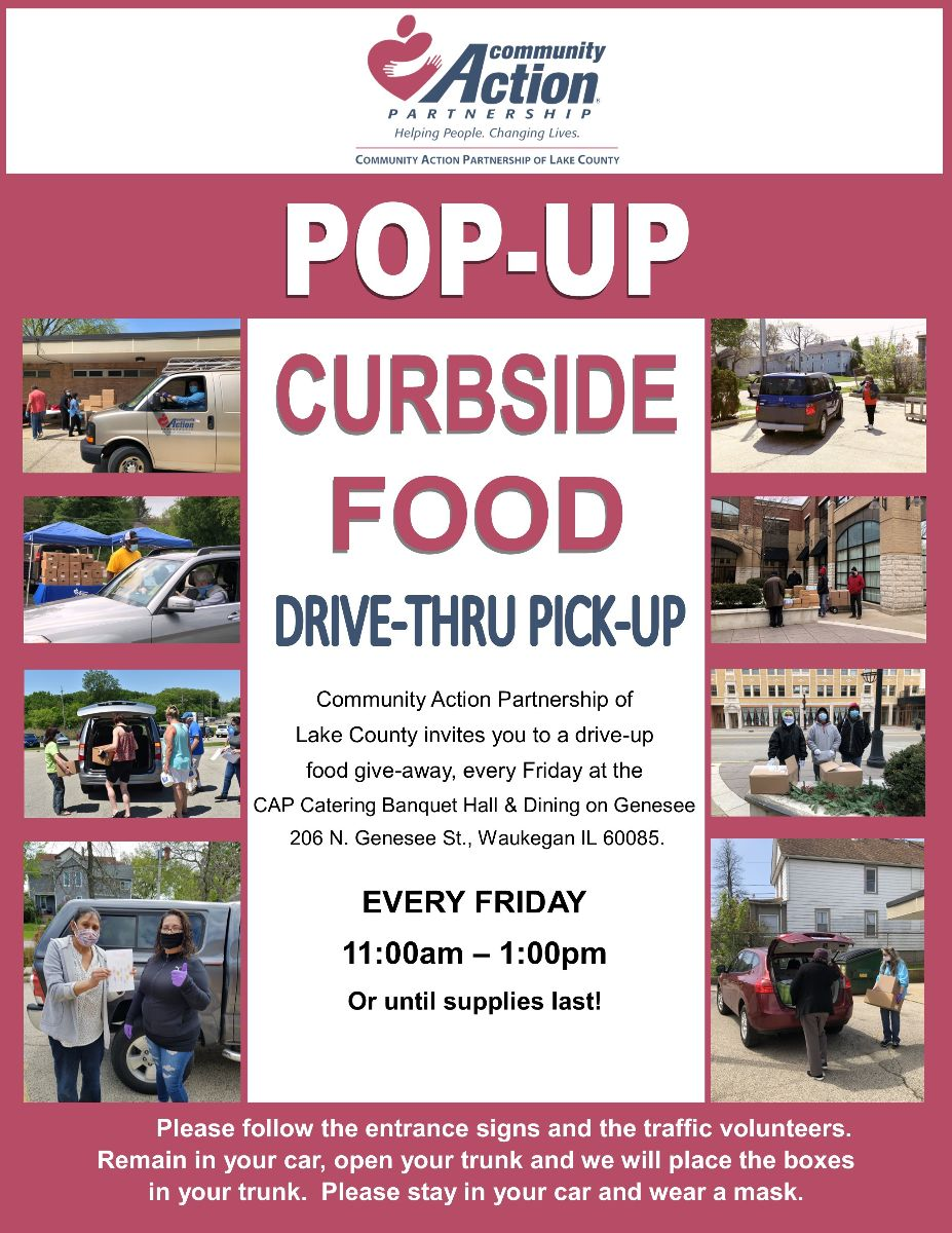 CAPOLC Free Curbside Food Distribution