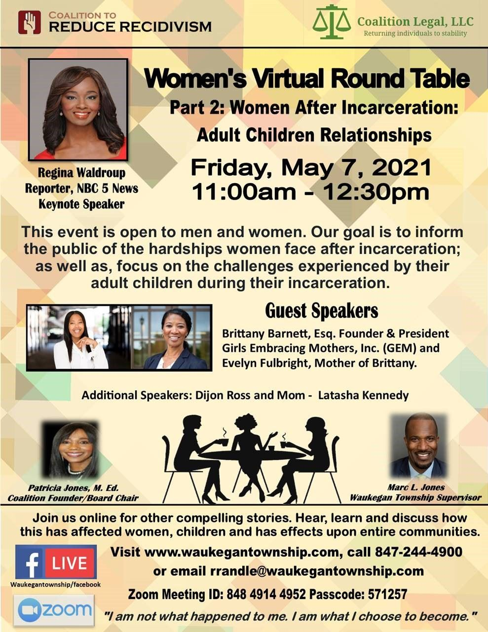 Women's Virtual Round Table Part 2